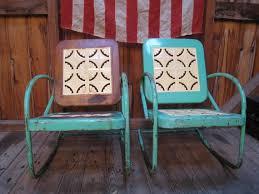 Vintage Lawn Chairs Aluminum Best Retro Outdoor Chair With Retro Vintage Aluminum Outdoor