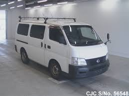 2002 nissan caravan white for sale stock no 56548 japanese