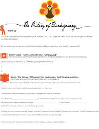 thanksgiving activity with and reproducibles if you re