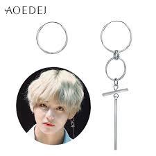 Bts Earrings   aoedej v bts earrings dna korean earrings long men bangtan boys v