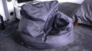 Big Joe Bean Bag Lounger Best Bean Bag Chair Big Joe Bean Bag Review Comfort Youtube