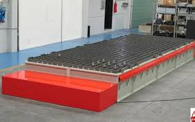 Laser Cutting Table Self Cleaning Downdraft Table For Plasma Cutting For Oxy Fuel