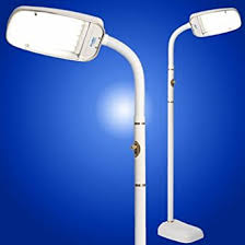 Dimmable Floor Lamp Bluemax 70w Floor Dimmable Floor Lamp White Amazon Com