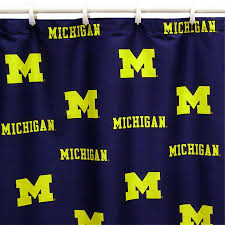 Of Michigan Curtains Shop College Covers Michigan Cotton Michigan Wolverines Patterned