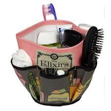 rangement accessoires cheveux panier salle de bain déco rangement salle de bain
