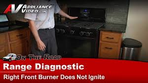 how to light a whirlpool gas oven whirlpool stove diagnostic repair burner does not ignite