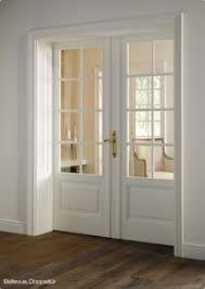 Interior White French Doors Make A Pocket Door Like This And Put Photographs Over Glass Panes