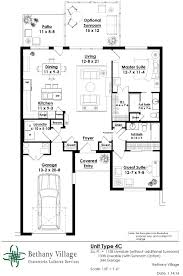 contemporary cottages bethany village floor plans