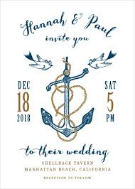 nautical wedding invitations nautical wedding invitations match your color style free