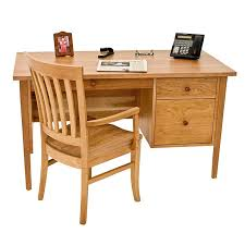 Small Executive Desks Small Wood Executive Desk Solid Cherry Maple Walnut
