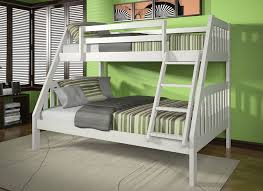 Roy Twin Over Full Wood Bunk Bed - Twin over full wood bunk beds