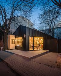 juice bar cabin not a number architects archdaily