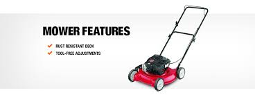 mtd mtd 20 in 125cc ohv briggs u0026 stratton walk behind gas push