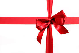 big present bow big set of gift bows with ribbons vector stock vector big