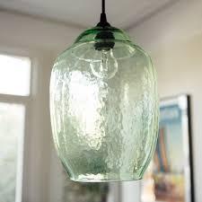 Green Glass Pendant Light Hanging Green Glass Pendant Light 39 95 Parish Lights Ceilings
