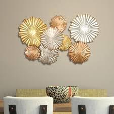 metallic home decor stratton home decor multi metallic circles wall decor spc 954 the
