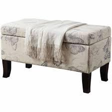 Ikea Benches Furniture Houndstooth Ottoman Ottoman Pouf Ikea Benches
