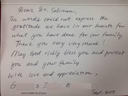 letters for thanksgiving thank you letters from our patients newlife fertility centre