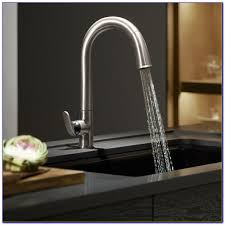 100 oil bronze kitchen faucet looking outside the stainless