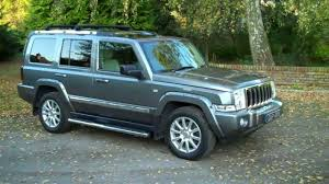 jeep commander jeep commander 3 0 crd auto sat nav sunroofs dvd 2007 57 youtube