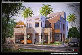 2 Storey House Plans Philippines With Blueprint Dream House Design Zamp Co