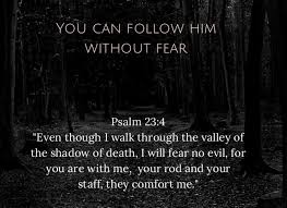bible verse fear evil nollywoodone