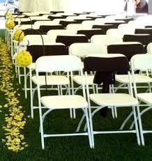 White Folding Chair Covers White Folding Chair Wedding Event Ideas Pinterest Folding
