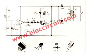 24v battery charger with scr wiring diagram components