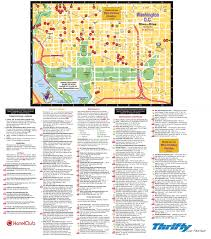 Metro Rail Dc Map by Washington D C Restaurants Hotels And Sightseeings Map