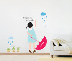 rainy day wall stickers wallstickery com rainy day wall stickers
