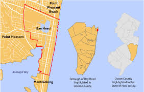 New Jersey Map Progress Report Borough Of Bay Head Bicycle And Pedestrian Master