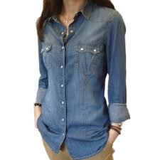 chambray blouse womens chambray shirt top denim shirts and blouses sleeve