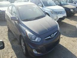 2012 hyundai accent gls for sale kmhcu4ae3cu236377 2012 gray hyundai accent gls on sale in ca