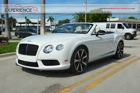 green bentley convertible used 2014 bentley continental gtc v8 s mulliner for sale fort