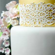 edible lace edible cake decorations premade cake lace global sugar