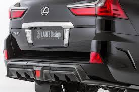 lexus lx new design larte design makes the lexus lx even more imposing for better or