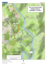 Yellow River Map Horse Trails And Riding Opportunities In Georgia