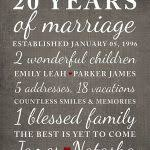 20 year anniversary gifts for him twentieth anniversary 20th wedding anniversary gift ideas 20th