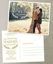 wedding invitations and save the dates postcard save the date wedding save the by creativeuniondesign