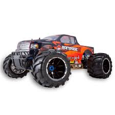 monster jam rc truck rampage mt v3 1 5 scale gas monster truck