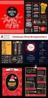 vectors u2013 christmas menu backgrounds 2 heroturko download
