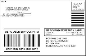 domestic mail manual s923 merchandise return service