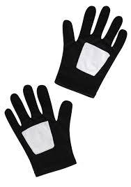 child black spider man gloves