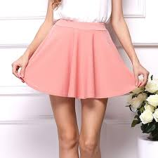 2016 spring summer casual wear girls pink short sport skirts