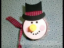 tea light snowman