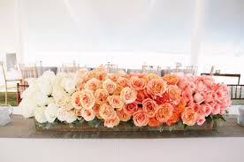 Coral Wedding Centerpiece Ideas by 30 Totally Breath Taking Ways To Use Ombre Wedding Flowers Deer