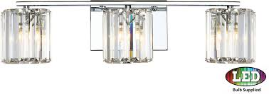 Quoizel Bathroom Vanity Lighting Quoizel Pcdv8603cled Platinum Collection Divine Contemporary