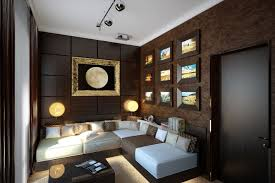 Brown Home Decor A Room Decorated In Two Distinct Styles Interior Design Ideas