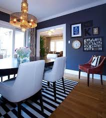 navy blue living room chair furniture decor trend most elegant