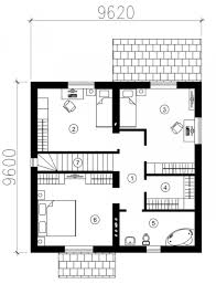 contemporary house floor plan office room small bath three rooms